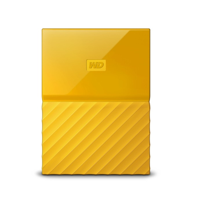 "3TB Western Digital MyPassport (жълт), външен, 2.5"" (6.35 cm), USB 3.0 image"