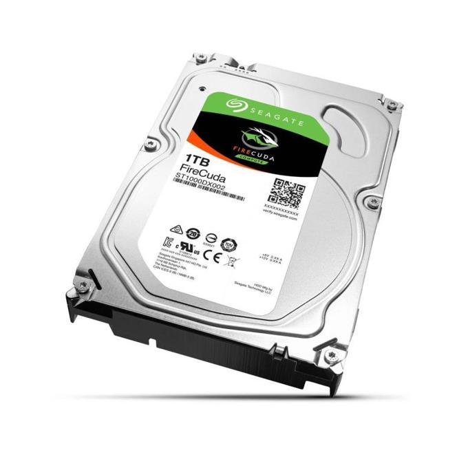 "Твърд диск 1TB Seagate FireCuda SSHD, 8GB MLC, SATA 6Gb/s, 7200rpm, 64MB кеш, 3.5""(8.89 cm) image"