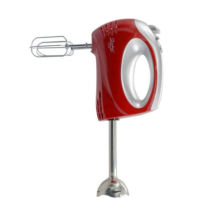 Миксер с пасатор Zephyr ZP 1110 O Red, 300 W, 5 скорости, с турбо, бъркалки за тесто, червен  image
