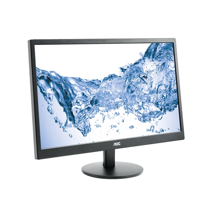 """Монитор AOC E2470SWH, 23.6""""(59.94 см) TN панел, FullHD, 1ms, 100000000:1, 250 cd/m2, DVI, VGA image"""