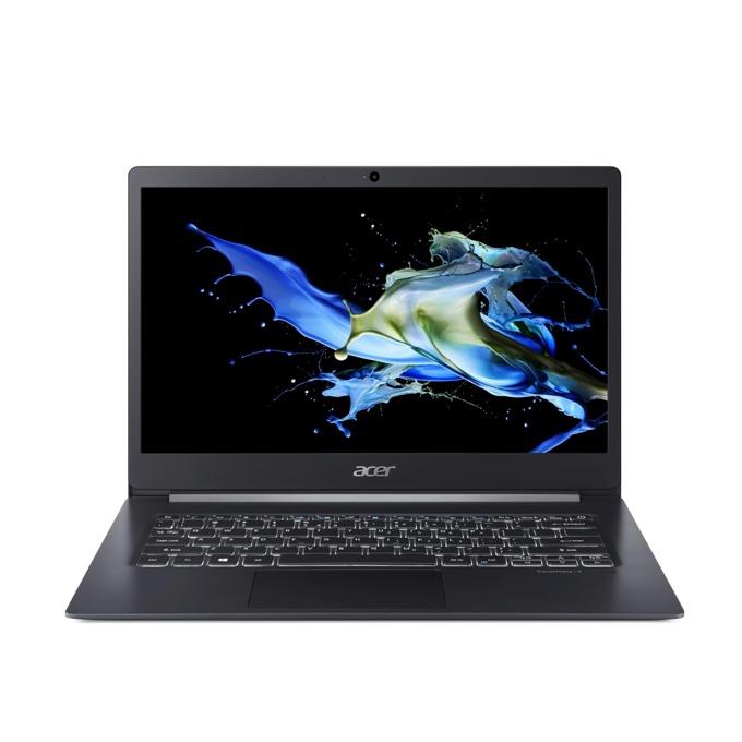 "Лаптоп Acer TravelМate TMX514-51-78L8 (NX.VJ7EX.011)(сив), четириядрен Whiskey Lake Intel Core i7-8565U 1.8/4.6 GHz, 14.0"" (35.56 cm) Full HD Anti-Glare Display, (HDMI), 8GB DDR4, 512GB SSD, 1x USB Type-C, Windows 10 Pro, 0.98 kg  image"