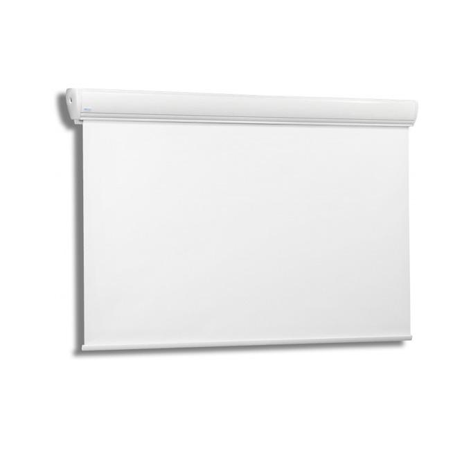 "Екран Avers AAKUSTRATUS 2 21-16 MG, стенен/таванен монтаж, Matt Grey, 210 x 160 см, 98"" (248.92 cm), 4:3 image"