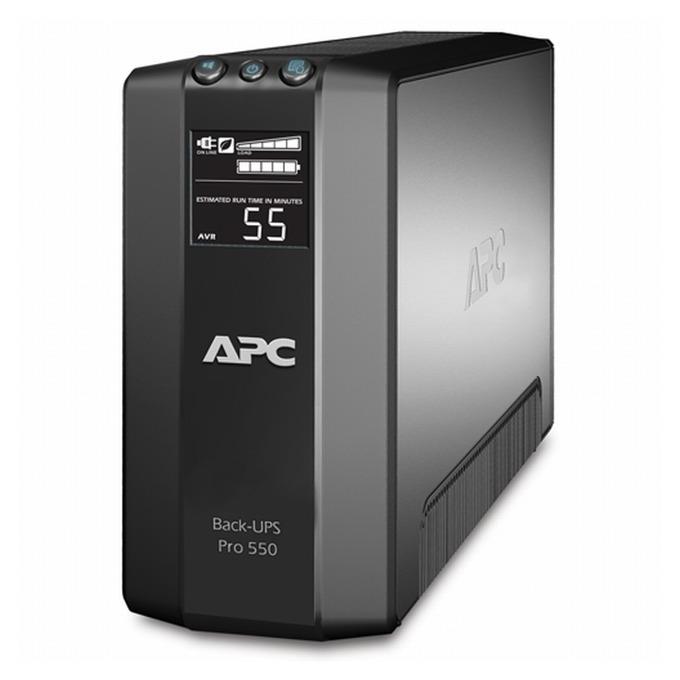 APC Back UPS RS, 550VA/330W, Line Interactive