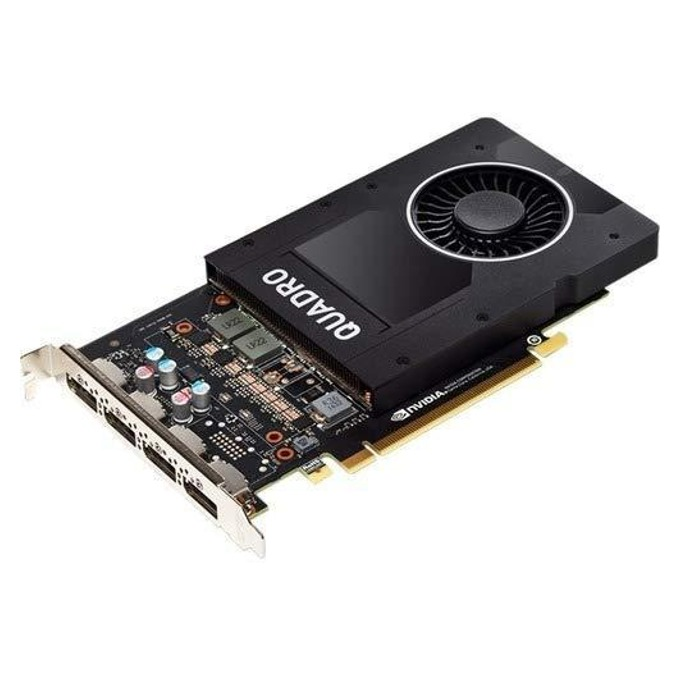 Видео карта Nvidia Quadro P2200, 5GB, PNY, GDDR5, PCI-E 3.0, 160 bit, DisplayPort image