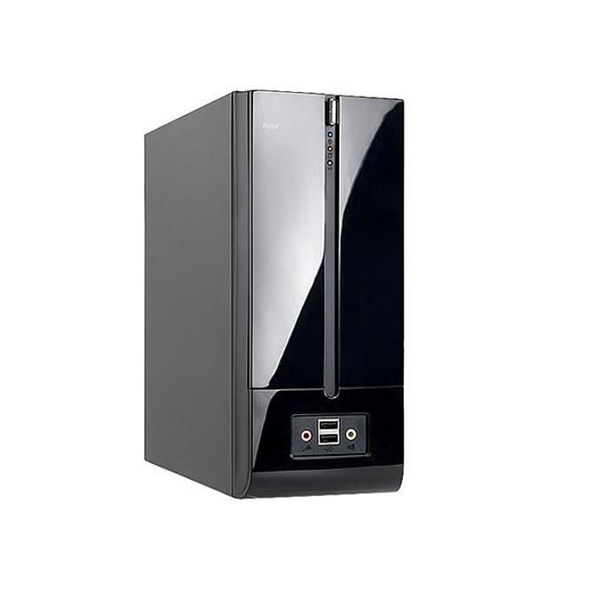 Кутия In Win BM639, Mini ITX/Mini DTX, 2x USB 2.0, черна, 180W захранване image