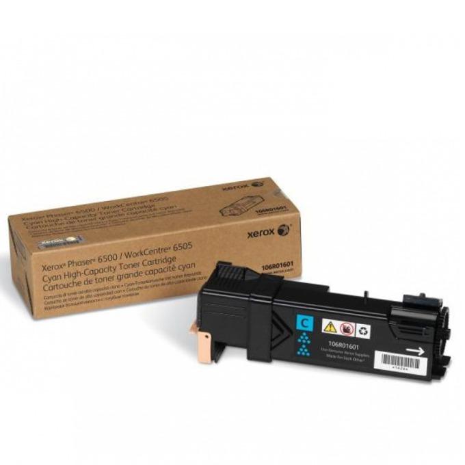 КАСЕТА ЗА XEROX Phaser 6500/WC 6505 - Cyan - P№ 106R01601 - заб.: 2500k image