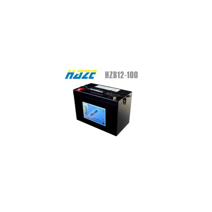 Акумулаторна батерия Haze (HZB12-100), 12V, 100Ah, AGM image