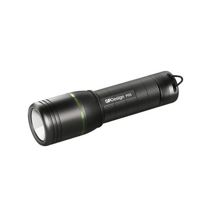 Фенер GP Design Beam P53 Multi Purpose, 3x AAA батерии, 300 lumens, ръчен, черен image