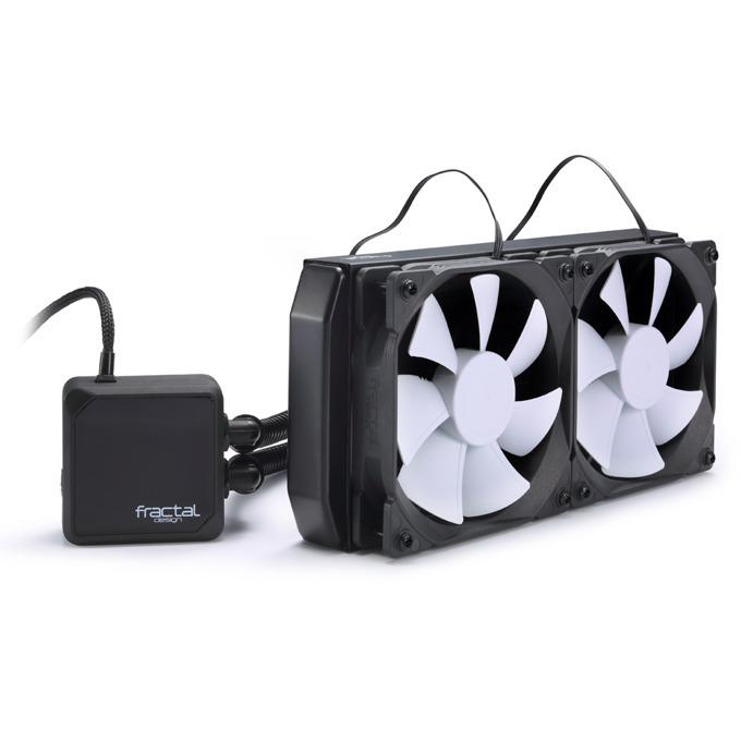 Водно охлаждане за процесор, Fractal Design Kelvin S24, съвместимо с Intel LGA 775/1150/1155/1156/1366/2011 & AMD AM2(+),AM3(+),FM1,FM2(+) image