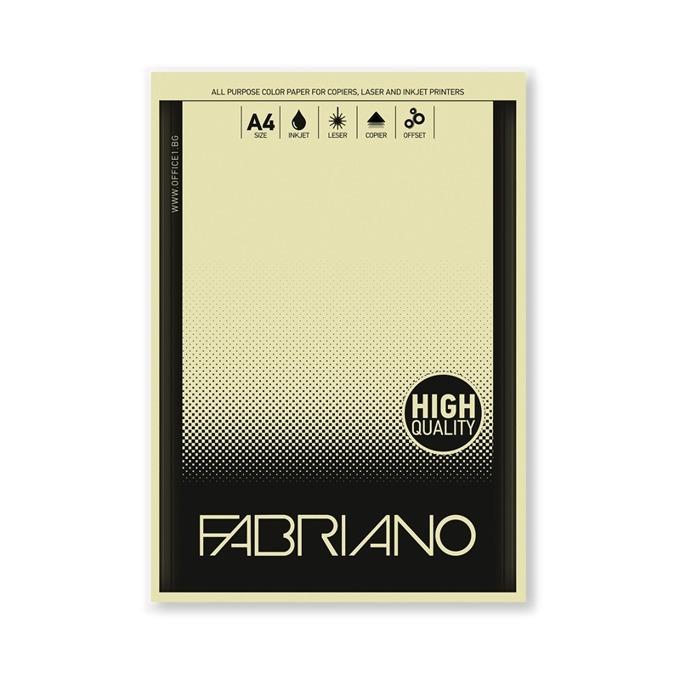Fabriano A4, 160 g/m2, банана, 50 листа product