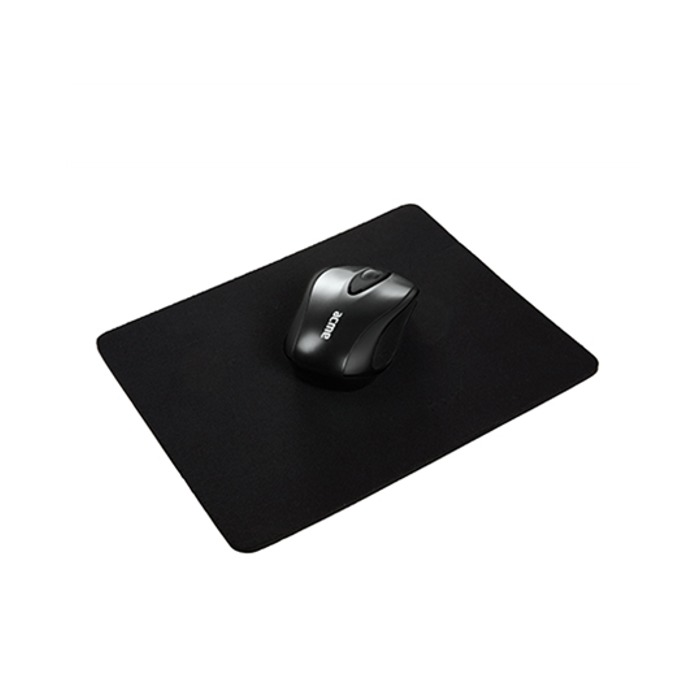 Подложка за мишка Acme Cloth Mouse Pad, 225 x 252 x 4 mm, черна image