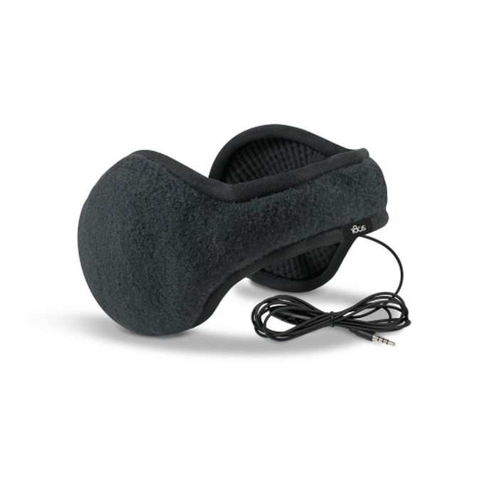 Слушалки 180s Tec Fleece Earmuffs, с ушанки, черни, микрофон, оптимизирани за iPhone image