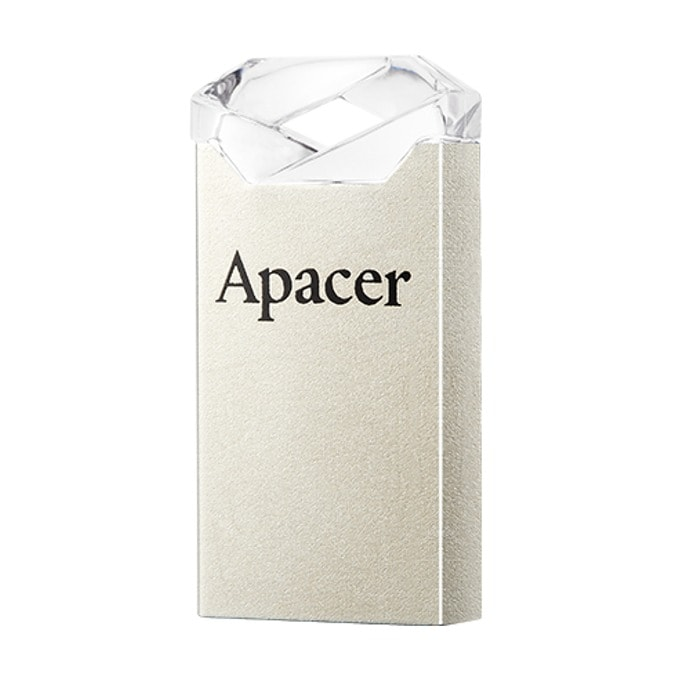 Памет 32GB USB Flash Drive, Apacer AH111, USB 2.0, прозрачен image