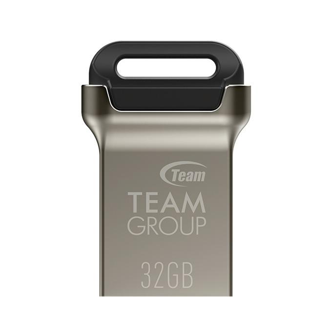 Памет 32GB USB Flash Drive, Team Group C162, USB 3.1, черна image