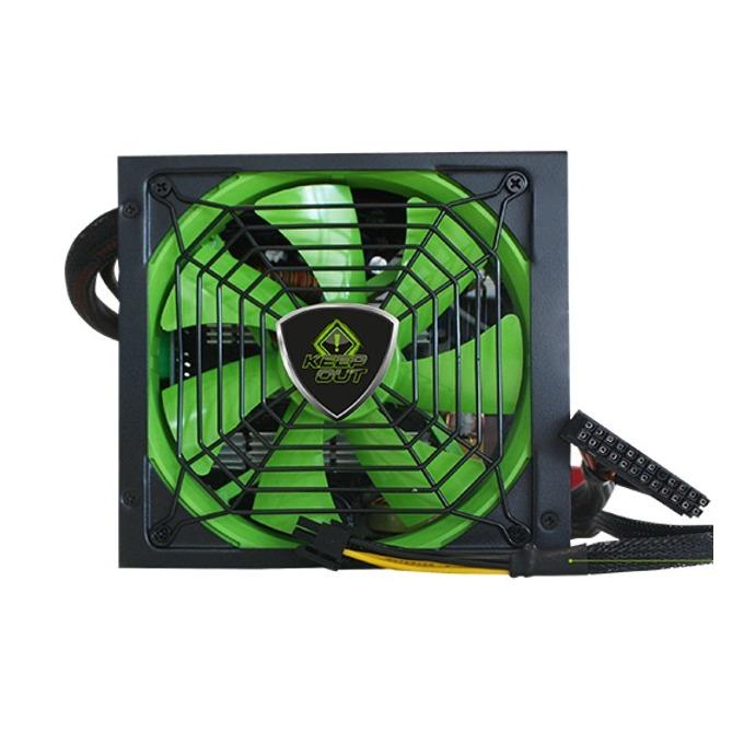 Захранване KEEPOUT FX900MU, 900W, Active PFC, 85 plus, 140мм вентилатор, модулен дизайн image