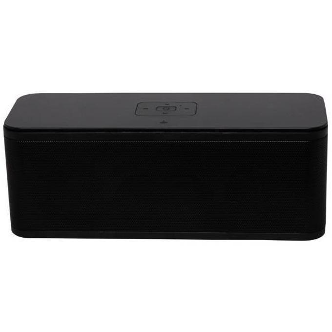 Тонколона DIVA BT1240B, 2.0, 3W RMS, безжична, Bluetooth, вграден FM тунер, AUX, USB, Micro SD, черна image