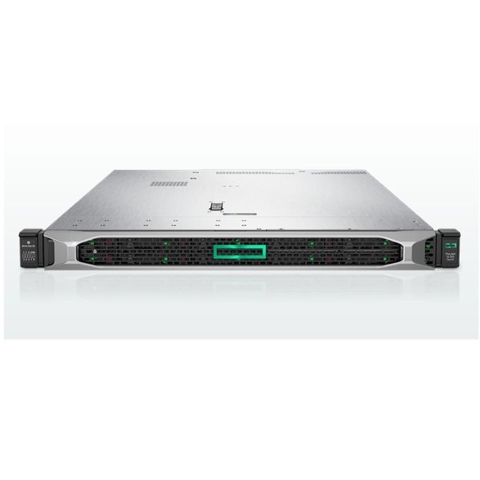 Сървър HPE ProLiant DL360 G10 (SOLUDL360-004), осемядрен Intel Xeon-Silver 4110 2.1GHz, 16GB RDIMM & 16GB 2Rx8 PC4, 3x 1.2TB SAS HDD & 2x 240GB SATA SSD, DP, VGA, 4x 1GbE, 1x Micro SD, 5x USB 3.0, 2x 500W захранване image