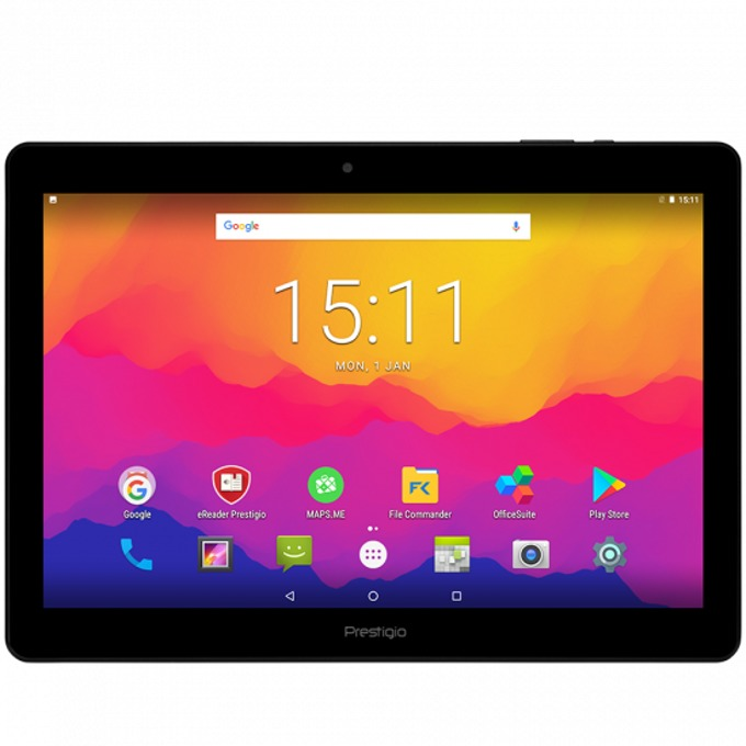 "Таблет Prestigio Muze 3171 (Черен), 3G, 10.1"" (25.65 сm) IPS дисплей, четириядрен 1.3GHZ, 1GB RAM, 8GB Flash памет (+ microSD слот), 2.0 & 0.3 Mpix, Android image"