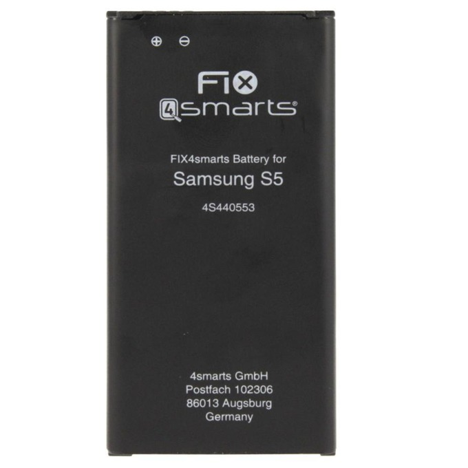 Батерия (заместител) FIX4smarts за Samsung Galaxy S5 2800mAh/3.85V,(bulk) image