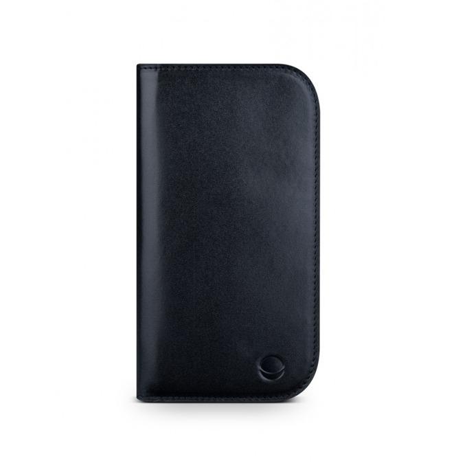 Калъф за Apple iPhone 5/5S/SE, Flip Wallet, кожа, Beyza PocketBook M, черен image