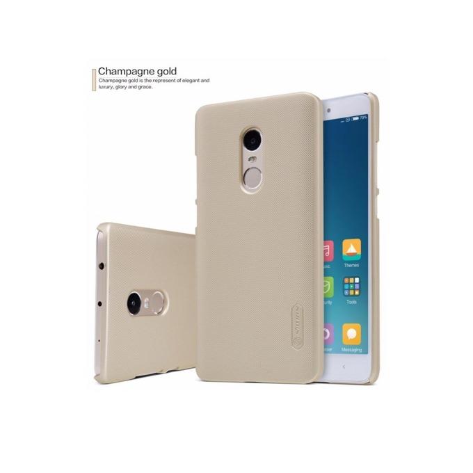 Калъф за Xiaomi Redmi Note 4, страничен протектор с гръб, пластмаса, Nillkin Redmi Note 4, златист image
