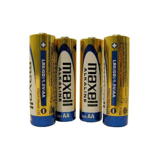 Батерии алкални Maxell AA, 1.5V, 4 бр. image