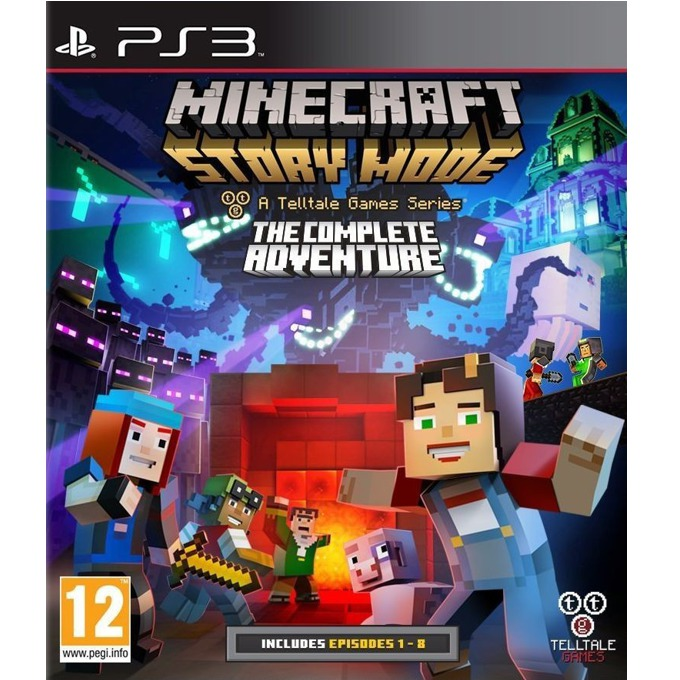 Игра за конзола Minecraft: Story Mode - The Complete Adventure, за PS3 image