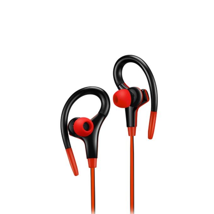 Слушалки Canyon CNS-SEP2R, микрофон, черни/червени image