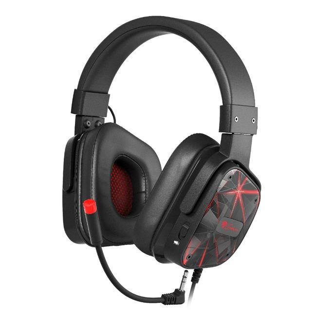 Слушалки Genesis ARGON 570 STEREO, микрофон, геймърски, черни image