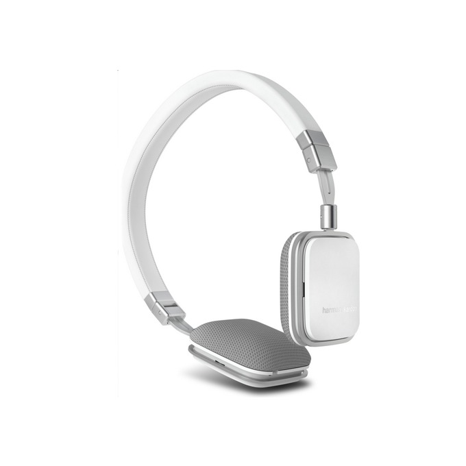 Слушалки Harman Kardon Soho BT, Bluetooth, микрофон и управление на звука, бели image