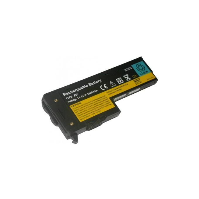 Батерия (заместител) за лаптоп IBM/Lenovo, съвместимa с модели Thinkpad X60 X60s X61 X61s, 4 cells, 14.8V, 2600mAh image