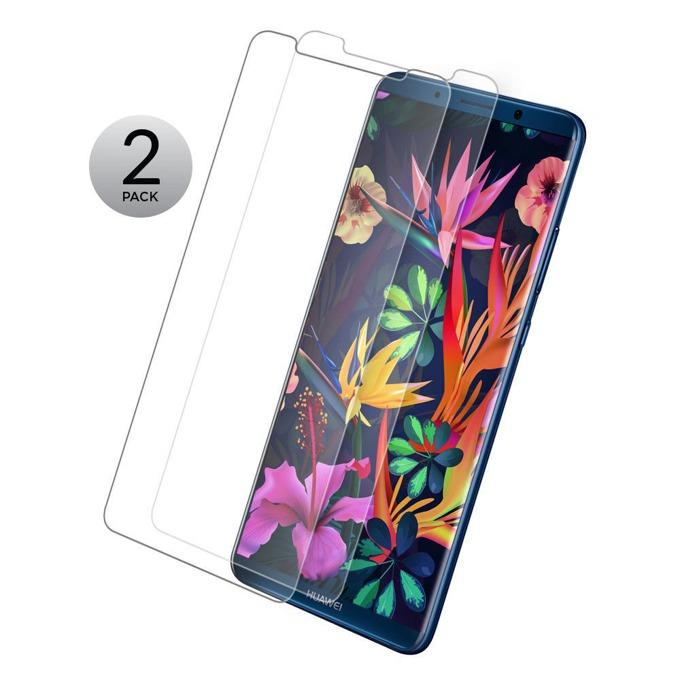 Протектор от закалено стъкло /Tempered Glass/ Eiger Tri Flex High Impact за Huawei Mate 10 Pro, 0.4mm, два броя image