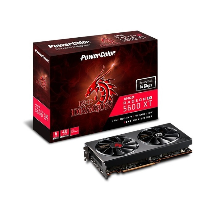 PowerColor Red Dragon RX5600XT 6GB GDDR6