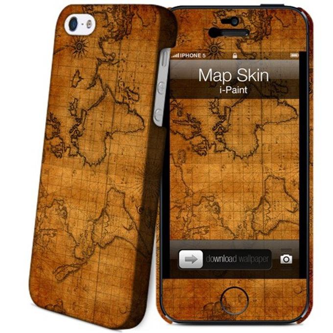 Протектор iPaint Map Case за iPhone 5/5s image