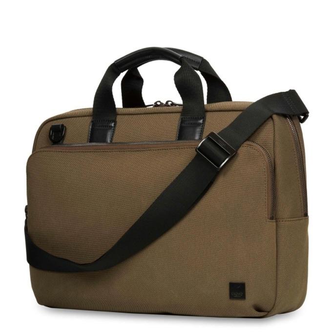 "Чанта за лаптоп Knomo Maxwell 15 Slim Briefcase, 15""(38,1 cm), кафява image"