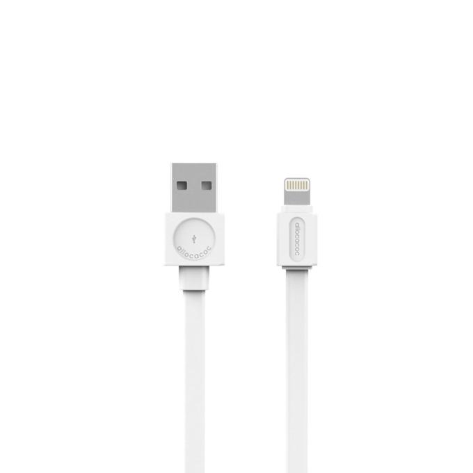 Кабел Allocacoc 10451WT, от USB(м) към Lightning(м), 1.5m, бял image
