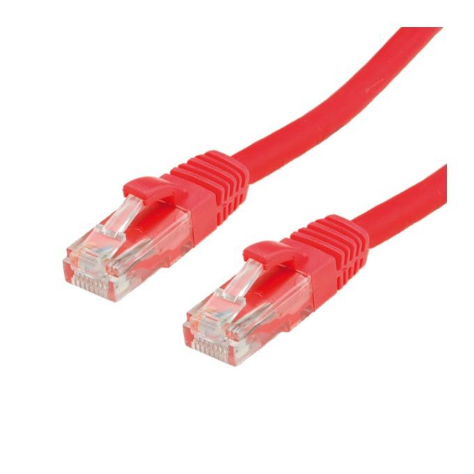 Пач кабел ROLINE 21.15.1401, S/FTP, Cat.6, 20.0 м, червен image