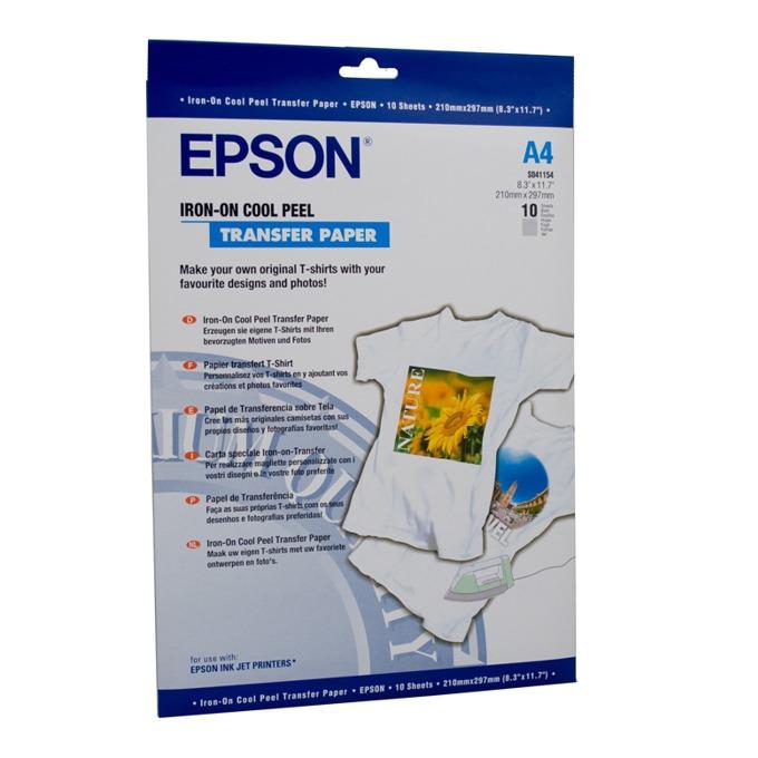 ХАРТИЯ EPSON IRON ON COOL PEEL TRANSFER PAPER - A4