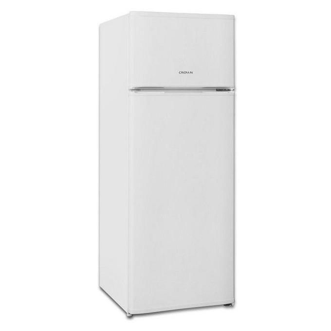 Хладилник с фризер Crown GN 2601 A+, клас А+, 227 л. общ обем, свободностоящ, 216 kWh/годишно, обръщаеми врати, автоматично саморазмразяване, бял  image