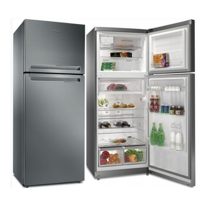 Хладилник с фризер Whirlpool TTNF 8111 OX, клас А+, 427 л. общ обем, свободностоящ, 355 kWh/годишно, 6-О чуство, NO FROST, инокс  image