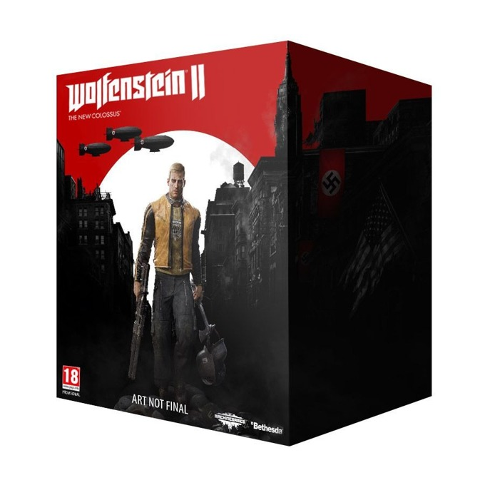 Игра за конзола Wolfenstein II: The New Colossus Collectors Edition, за PS4 image