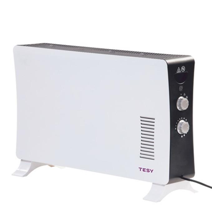 Конвектор Tesy CN 206 ZF, терморегулатор, защитен термостат, 2000W, бял image