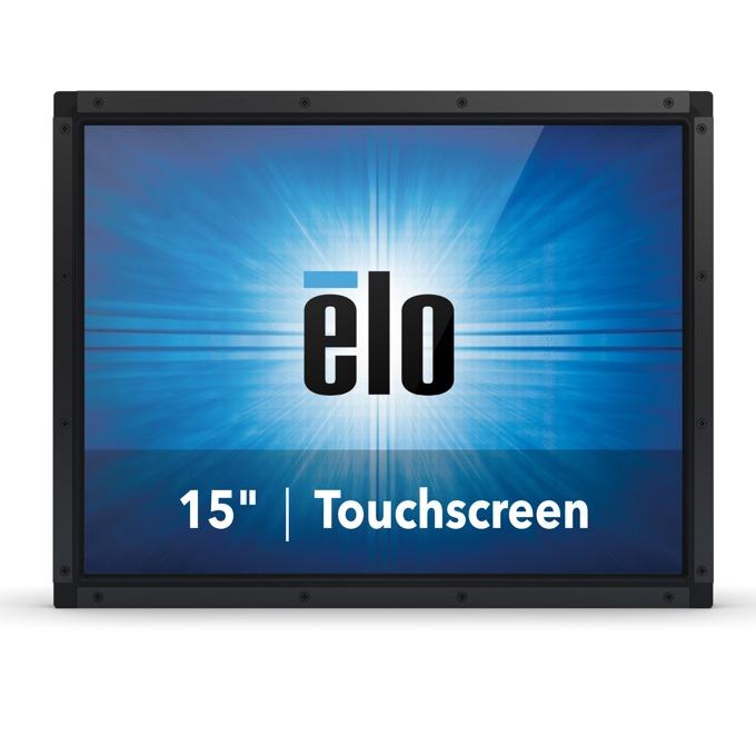 """Монитор ELO E334530, 15""""(38.10 cm), TN тъч панел, XGA, 16ms, 700:1, 220cd/m2, VGA, DisplayPort, HDMI, черен image"""