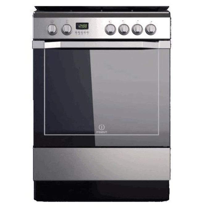 Готварска печка Indesit I6VMC6A(X)GR, клас А, 61л. общ обем, 7 функции на фурната, инокс image