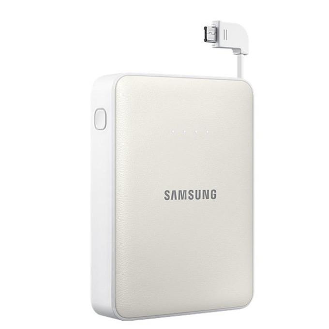 Външна батерия/power bank Samsung, 8400mAh, бяла image