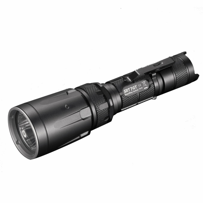 LED фенер Nitecore SRT7GT,1 × 18650/2 × CR123Special батерии, 450 lumens, IPX8 водоустойчив, удароустойчив, за открито image