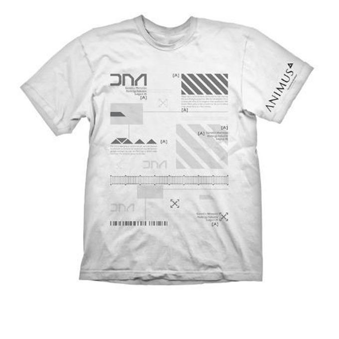 Тениска Gaya, Assassins Creed Animus, размер L, бяла image