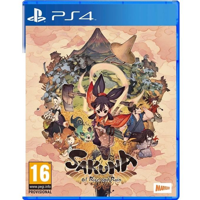 Sakuna: Of Rice And Ruin PS4 product