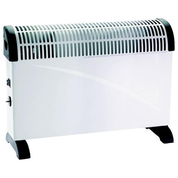 Конвектор Crown CCH-2002, 3 степени на мощност: 750/1250/2000W, защита срещу прегряване, 2000W, бял image