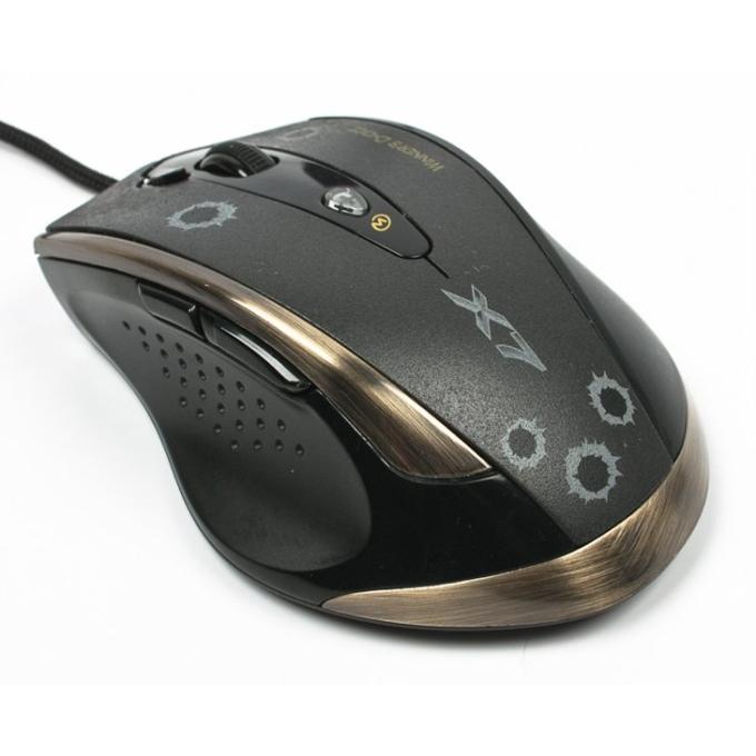 Мишка A4Tech V-Track F3, лазерна, 100 - 3000dpi, макроси, USB image